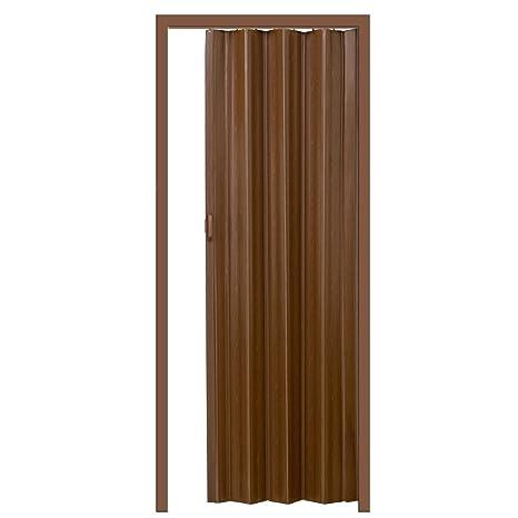 Tectake Porta A Soffietto Ruegen Dimensioni 80 X 203 Cm Parete A