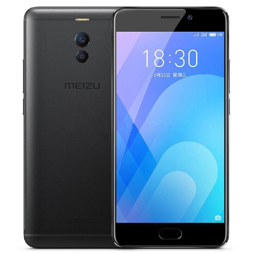 Original Meizu M6 Note Unlocked Smartphone 3G RAM 32GB ROM Snapdragon 625 5.5'' 1080P Fingerprint Dual Rear Camera 12MP+5MP Front Camera 16MP 4000mAh Android 7.1 4G LTE Cell Phone(Black)