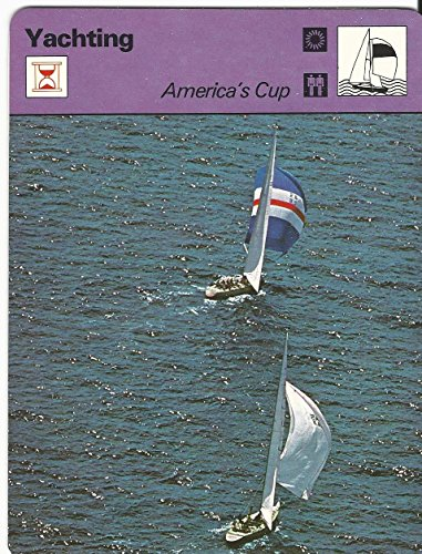 1977-79 Sportscaster Card, 24.17 Yachting, America's Cup