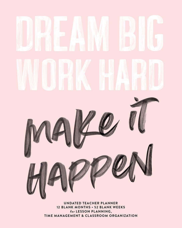1pk 12 Threshold Dream Big Inspirational File Folders-pink Gold White Graduation for sale online