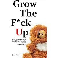 Grow The F*ck Up: White Elephant & Yankee Swap gift, gag gift for men, birthday gift for him, novelty book, Secret Santa…
