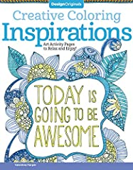 Life is a wonderful adventure, and all of our dreams can come true! Hold on to your dreams with Creative Coloring Inspirations, the coloring book that offers hope and encouragement on every page. Inside you'll find:           ...