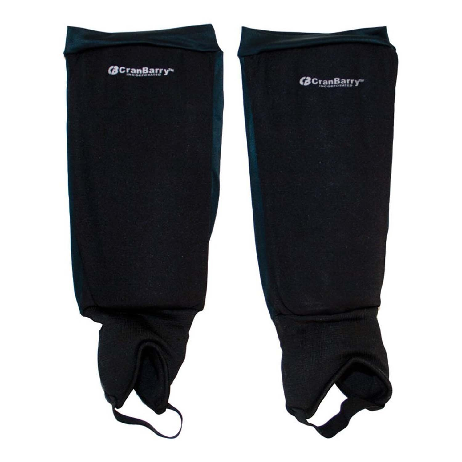 Grays CRANBARRY DELUXE YOUTH FIELD HOCKEY SHINGUARDS BLACK