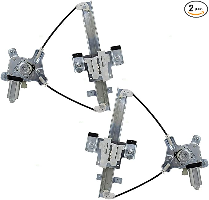 Passengers Rear Power Window Lift Regulator /& Motor Assembly Replacement for Chevrolet Cadillac GMC Pickup 20945141