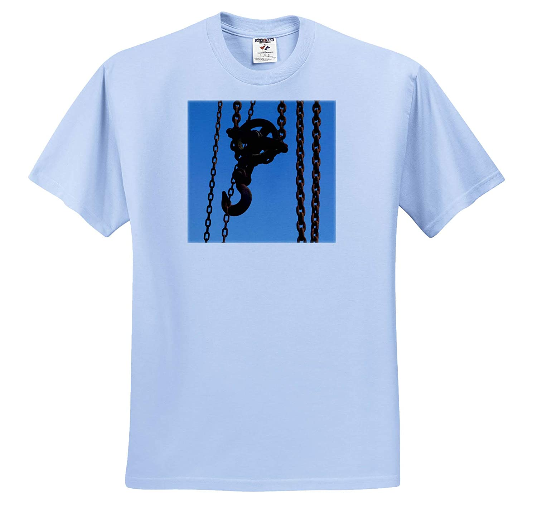 T-Shirts 3dRose Russ Billington Photography Image of Rusting 2 Ton Hoist Winch