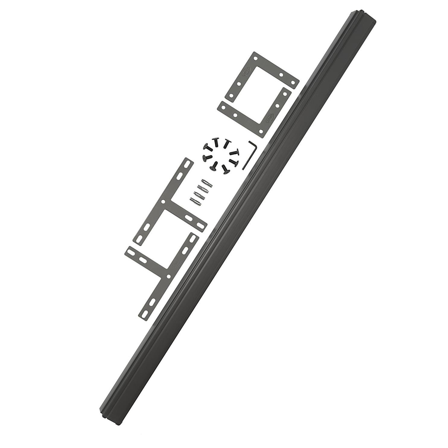 Bush Business Furniture ProPanels - 2 way or 3 way Connector (for 42H Panels) in Slate