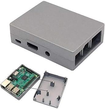 Yangxz Arduino Compatible, Caja de Caja de Metal de Caja de ...