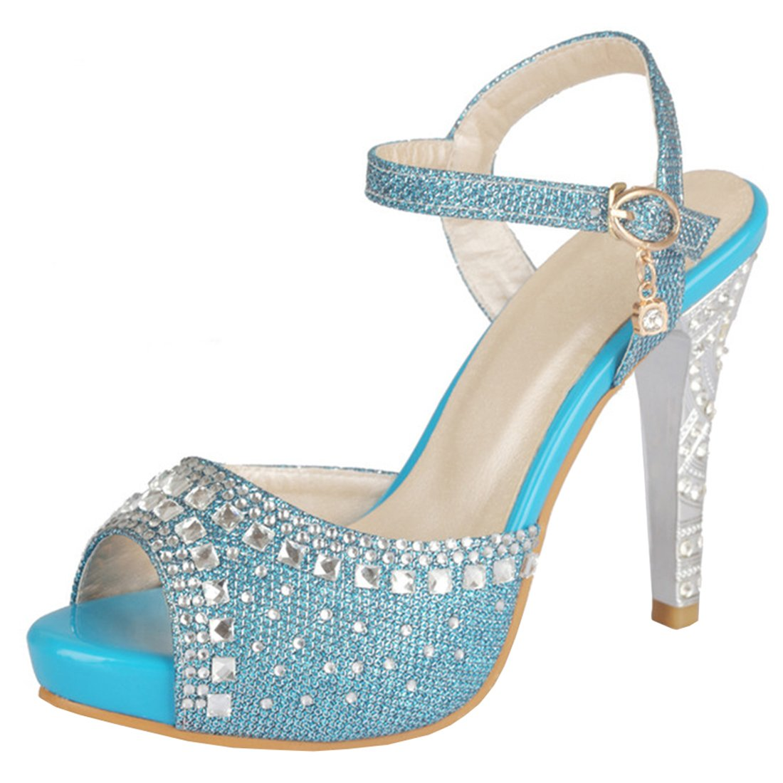 Atyche Bride Femme Bride Cheville Femme Bleu Bleu 40b28be - jessicalock.space