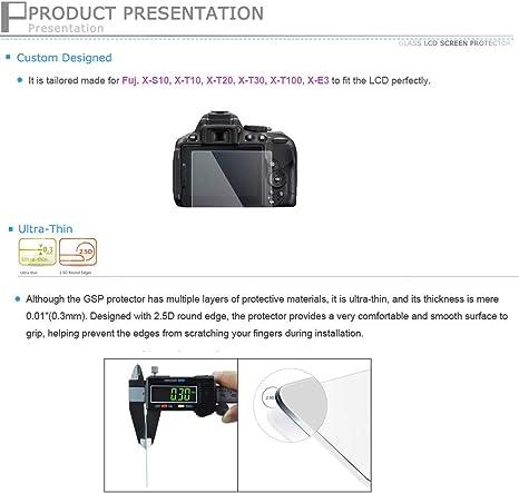 Jjc Displayschutz Für Fujifilm X S10 X T30 Ultradünn Kamera