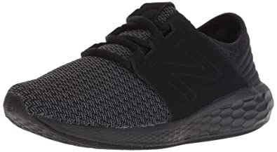 best sneakers d9d20 87362 New Balance Boys  Cruz V2 Fresh Foam Running Shoe, Black Magnet, 1