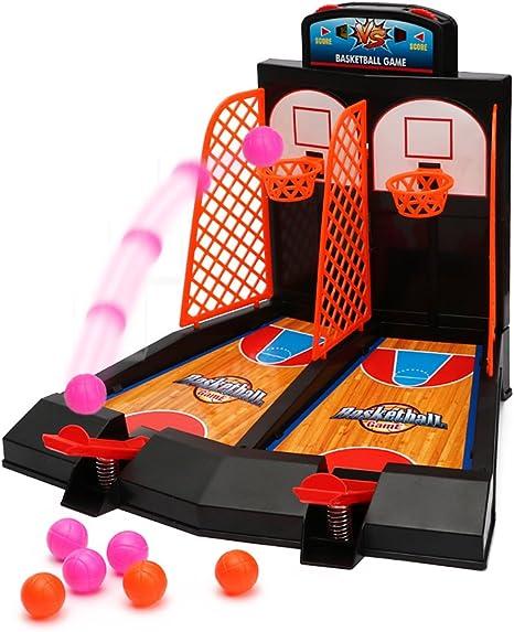 WISHTIME Tablero Minibasket Juego de Tiro Juego de 2 Jugadores ...
