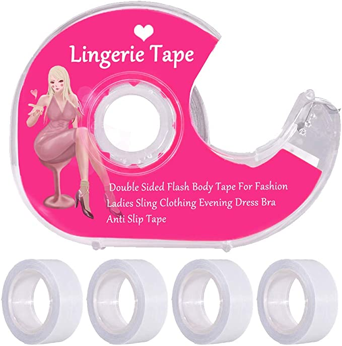 Body Tape Boob Tape Wig Tape Toupe Tape 5m HYPOALLERGENIC Double Sided