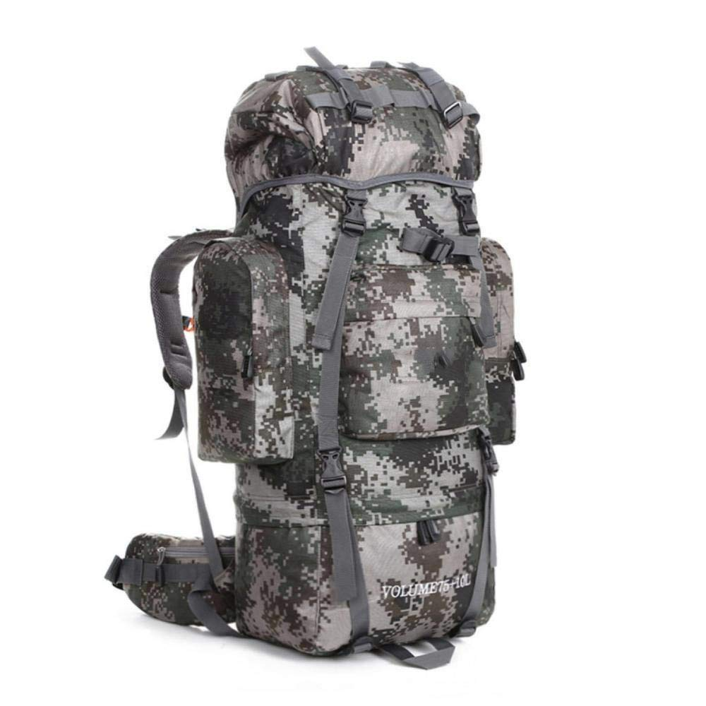 NuoEn Sports Backpack Large Capacity Outdoor Mountaineering Bag Professional Camping Backpack