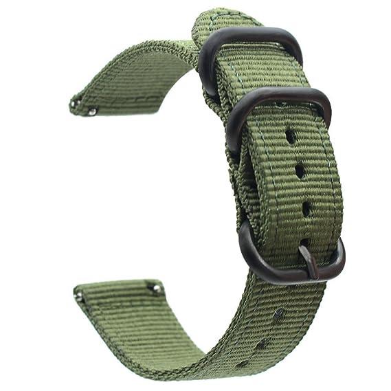 Jewh Genuine Classic Nylon Strap Samsung Gear S3 - Band Frontier Strap Gear S3 - Classic