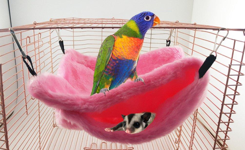 Qin ChenChen Pet Pocket Snuggle Hammock Bird Tent Nest Random color