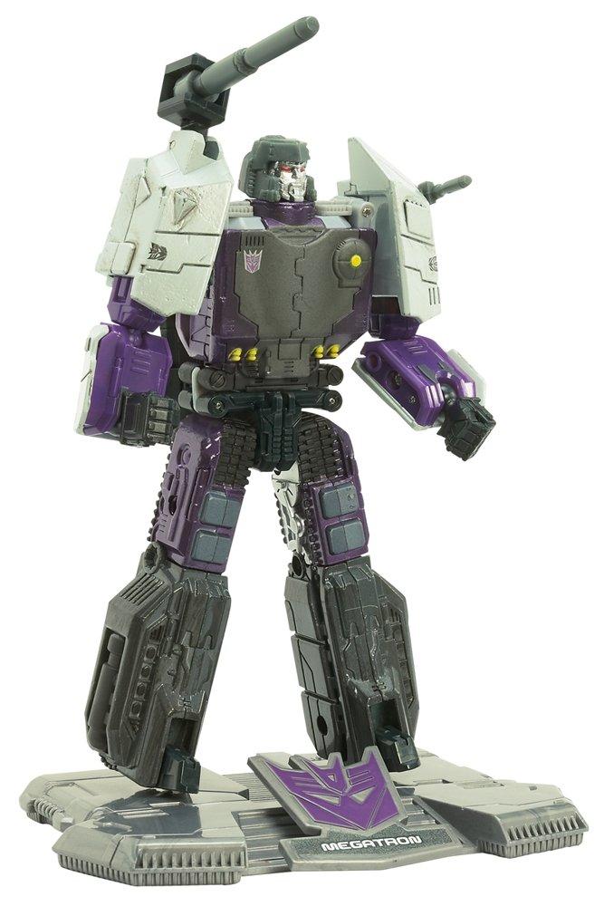 Joe Hasbro 33908 Titanium Series Transformers 6 Inch Metal Cybertron Heroes Megatron G.I