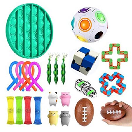 10x Sensory Fidget Toys Set Stress Relief Handspielzeug für  Adults Kinder ADHS
