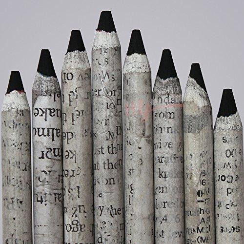 12-piece Student Drawing Black Pencils Set