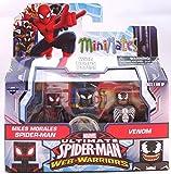 Minimates Marvel Ultimate Spider-Man Web Warriors Miles Morales and Venom Minifigures