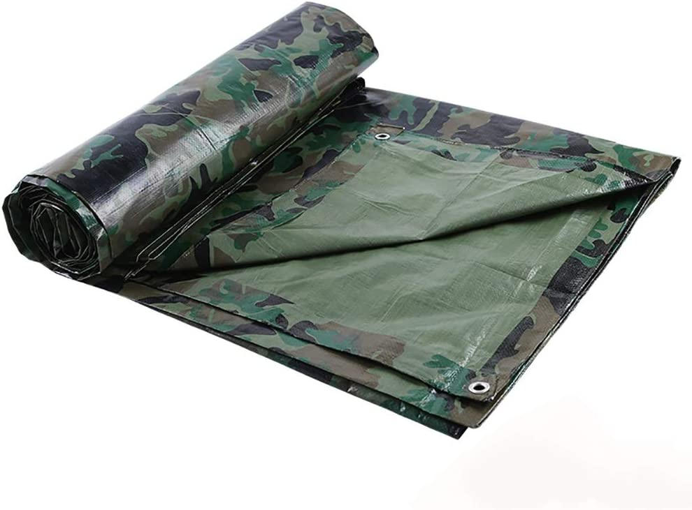 SAN/_F La b/âche de camouflage couvre la b/âche imperm/éable en plastique PE de b/âche de protection de b/âche de soleil de b/âche de protection de tente de serre-soleil m/² Size : 2x3M 100g