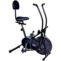 Lifeline Exercise Air Bike Back Support with Moving Handle for Weight Loss at Home Use