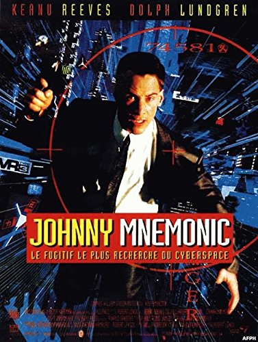 Johnny Mnemonic-Keanu Reeves 40 x 56 cm Cartel Cinema ...