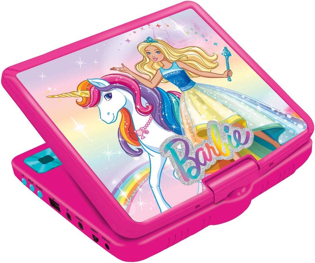 Amazon.es: LEXIBOOK r Barbie, Mattel-Lector DVD Portátil 7