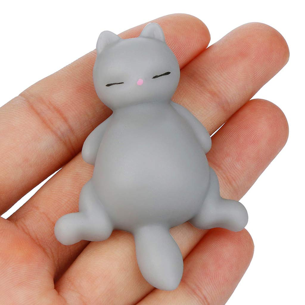 Squeeze Squishies Toy Squishyies Mochi Lazy Cat Squeeze Healing Fun Kawaii Stress Reliever Toys Gifts (White): Amazon.com: Grocery & Gourmet Food