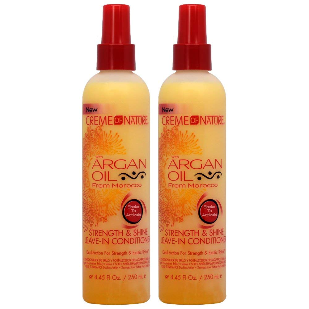 Creme Of Nature Argan Oil Conditioner Leave-In 8.45oz (2 Pack)
