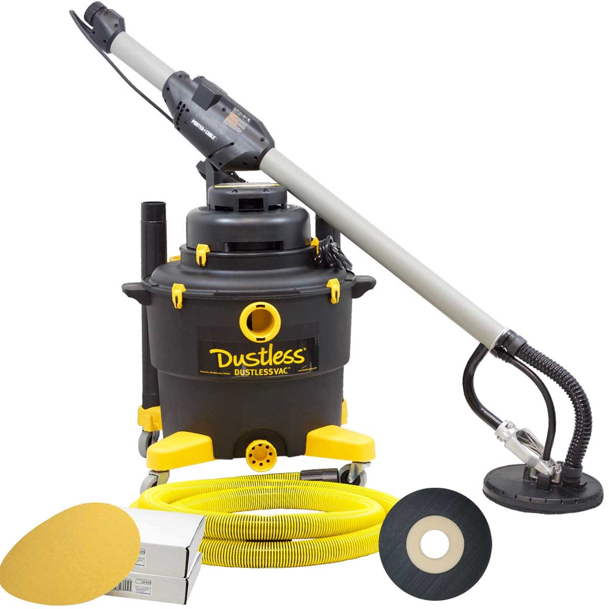 Porter Cable 7800 Dustless Drywall Sander/Vacuum Combo Kit - Top-Rated Professional Set