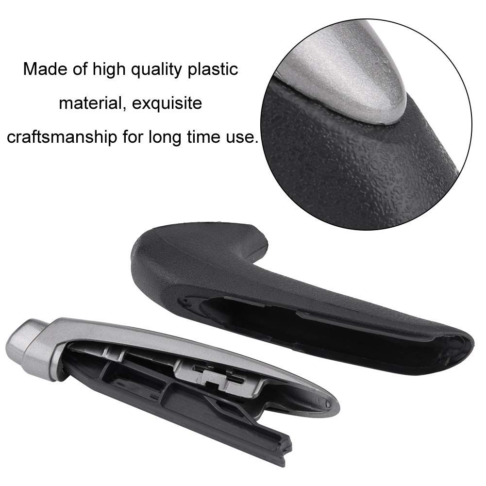 Acouto Car Handle Grip Cover Handbrake Protector Cover Parking Brake Handle for Honda Civic Sedan 06-11 Interior Trim Hand Brake Cover