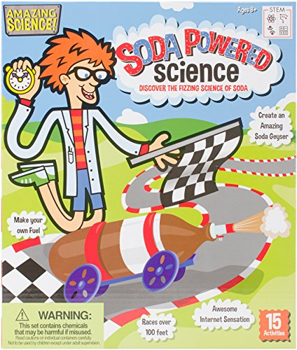 Be Amazing! Toys Soda Powered Science - Car Mentos