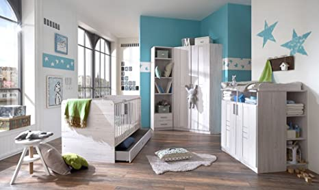 lifestyle4living Babyzimmer, Kinderzimmer, Komplett-Set ...