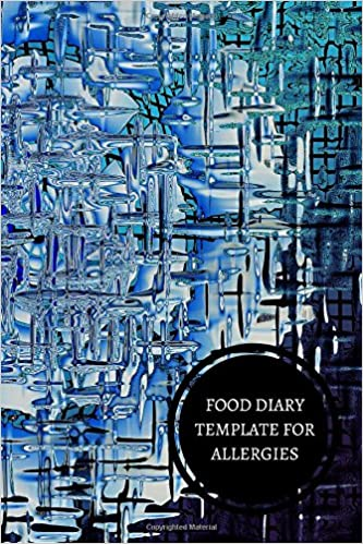 Food Diary Template For Allergies Journals All 9781521320754 Amazon Books