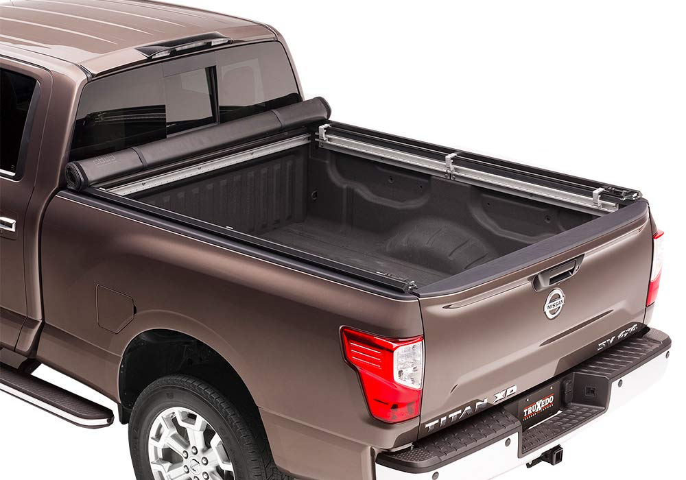 TruXedo 283601 TruXport Soft Roll-Up Dual Latch Tonneau Cover