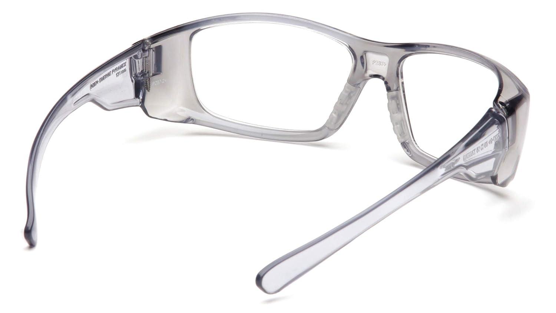Pyramex Safety SG7910D15 Emerge Grey Frame with Clear 1.5 Lens by Pyramex Safety