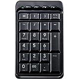 ELECOM テンキーボード ワイヤレス接続 Bluetooth メンブレン ホットキー搭載 ブラック TK-TBM008BK