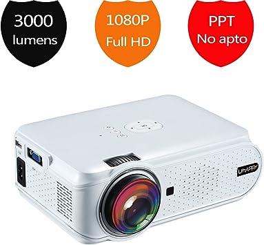 Mini Proyector de Vídeo Home Cinema, TopRui Portátil LED Proyector ...