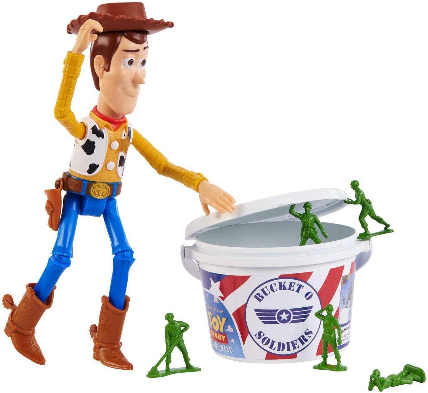 Pixar Disney Toy Story Woody & The Troops 18 Pack