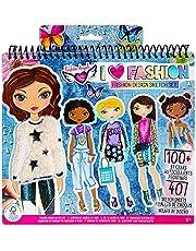 Fashion Angels I Love Fashion Sketch Portfolio for Kids - Fashion Design Sketch Book for Beginners