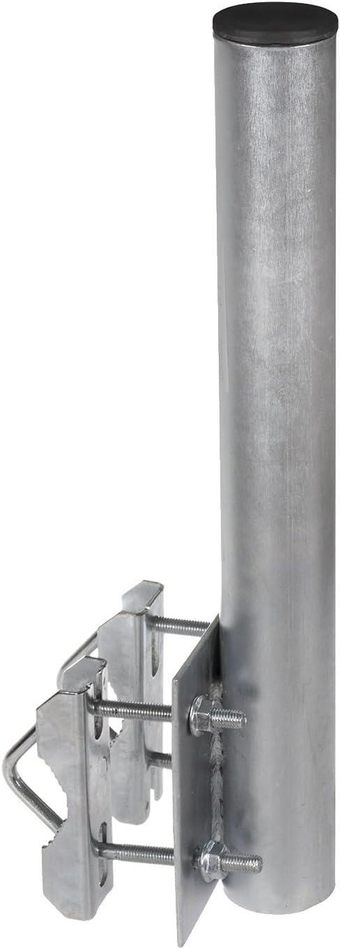 Maclean (MCTV-564) - Soporte para Antena con Doble Abrazadera para Montar en balcón, 50 cm