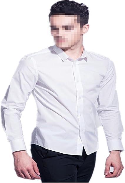 Camisa Blanca Caballero Suerte Clásico para Ocasion Formal ...
