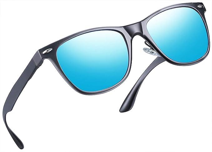 ba7e1c858e5 Joopin Unisex Polarized Sunglasses Classic Men Retro UV400 Brand Designer  Sun glasses (Al Mg Alloy