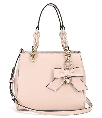1e3d7a7cec96 Amazon.com: Michael Kors Cynthia Small Convertible Satchel - Soft Pink:  Shoes