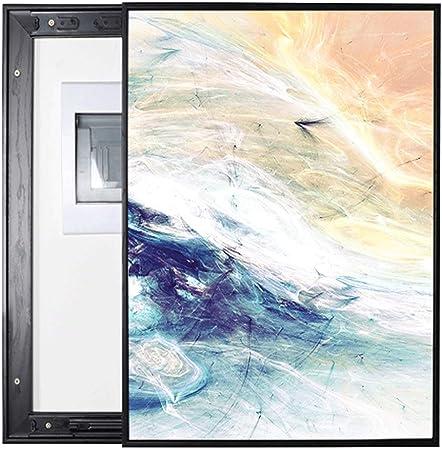 Yuandudu Dbxiang Caja de medidor Vertical Izquierda y Derecha Puerta corredera Decoración Resumen Imagen Simple Caja de oclusión (Size : (40 * 50cm 30 * 40cm)): Amazon.es: Hogar