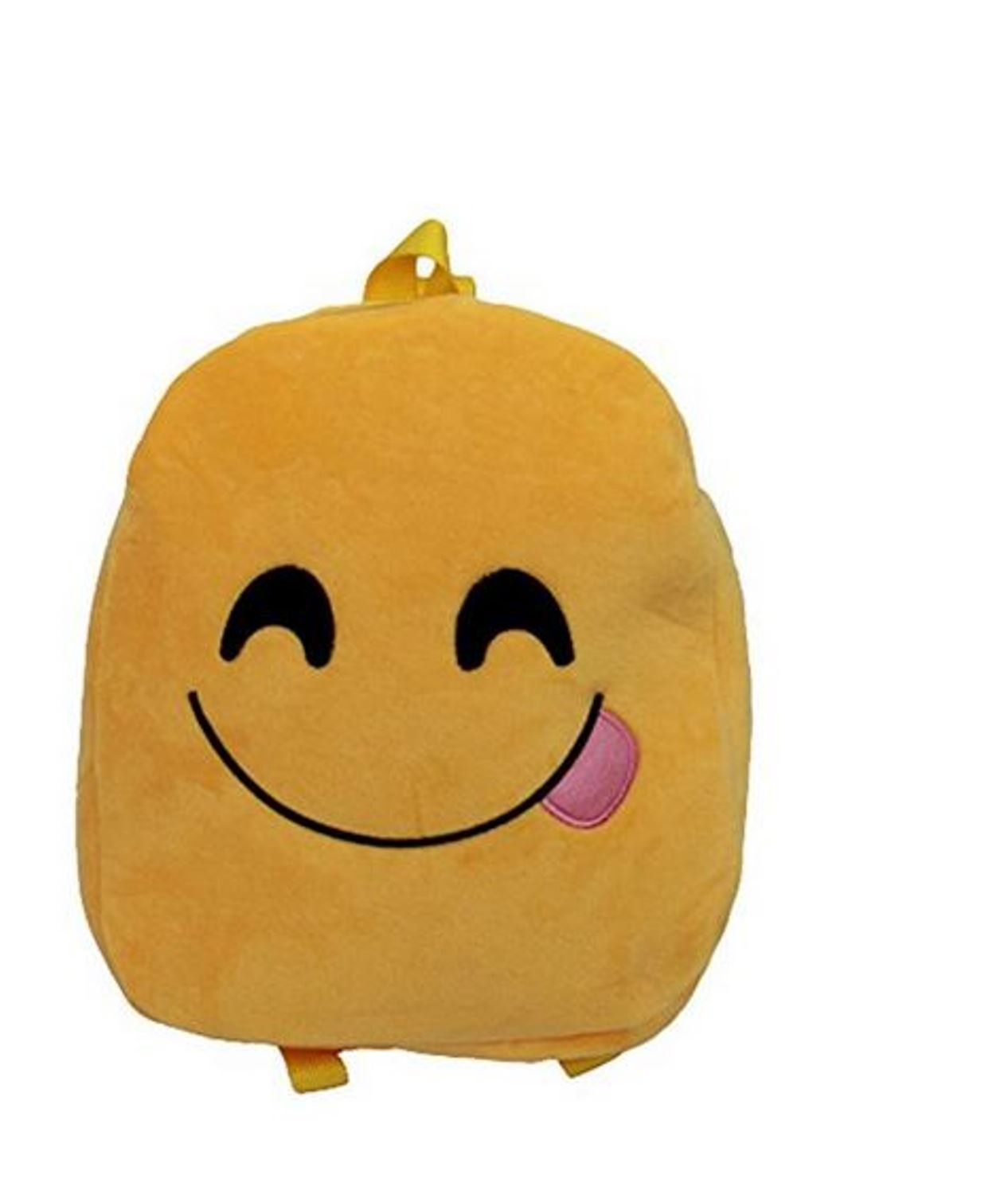 12.5'' Emoji Emoticon Backpack An Ultra-Cool Accessory for School, Travel, Camping, Sleepovers & Other Occasions (TONGUE)