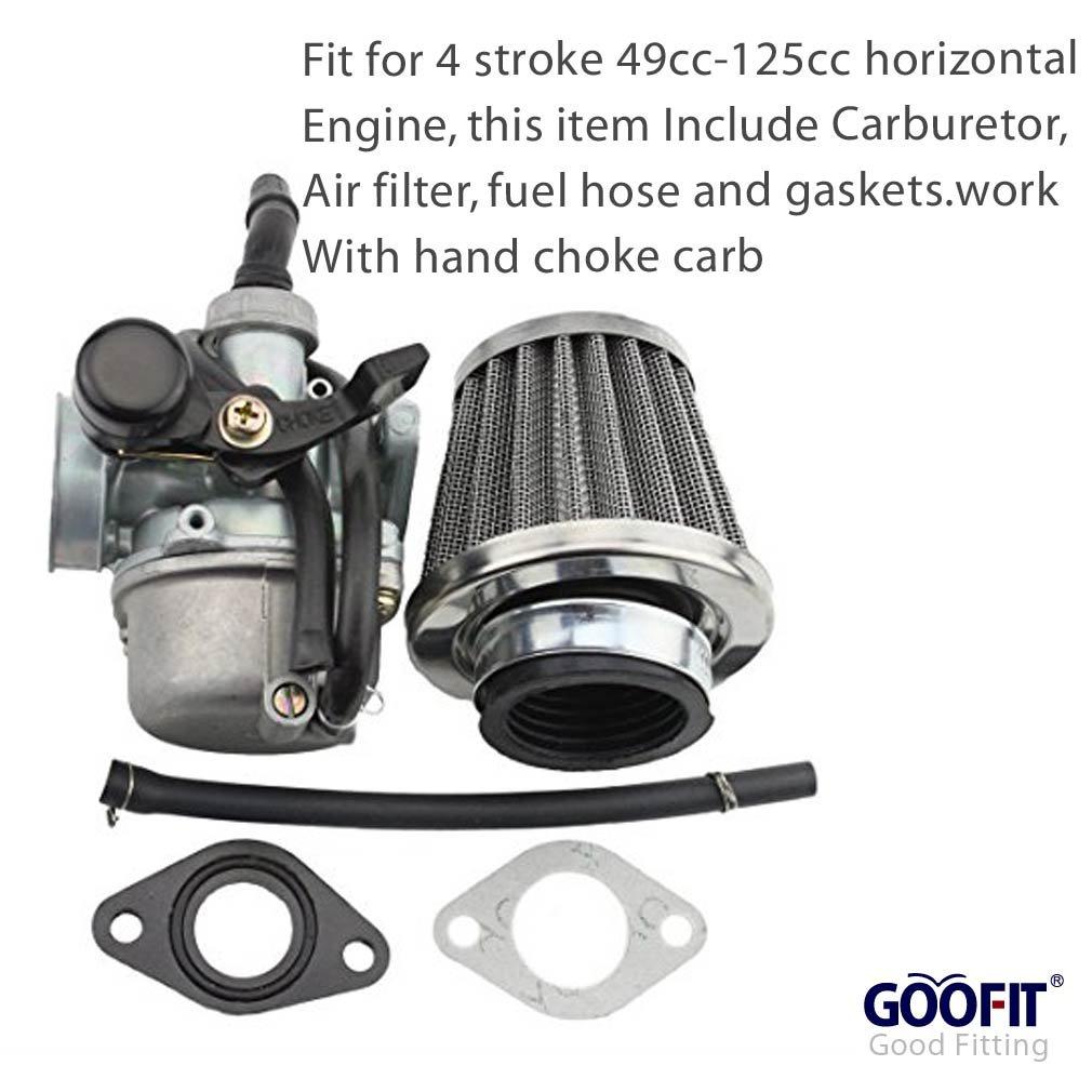 Amazon.com: GOOFIT - carburador para Taotao Sunl Baja Roketa ...
