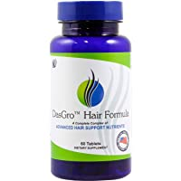 DasGro Hair Growth Vitamins, Biotin & DHT Blocker, Stops Hair Loss, Thinning, Balding...