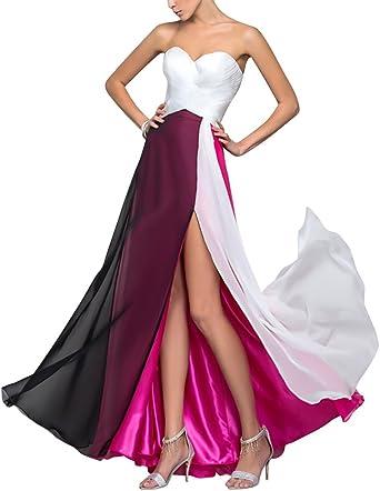 Robe de Soiree pour Mariage Mousseline Robe
