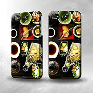 Apple iPhone 4 / 4S Case - The Best 3D Full Wrap iPhone Case - Japanese Food